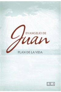 LBLA Evangelio de Juan, tapa suave -
