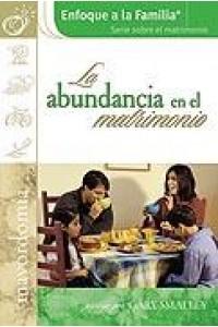 Abundancia En El Matrimonio -  - Dobson, James