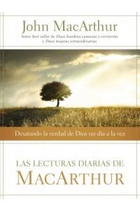 Lecturas Diarias de MacArthur -  - MacArthur, John F.