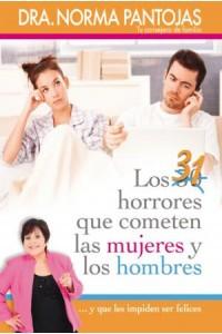 31 Horrores que Cometen las Mujeres y Los Hombres -  - Pantojas, Norma