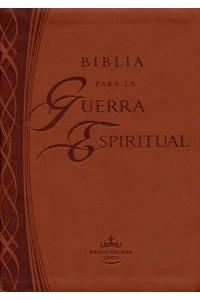 Biblia Para la Guerra Espiritual - Imitación Piel - 9781621361640