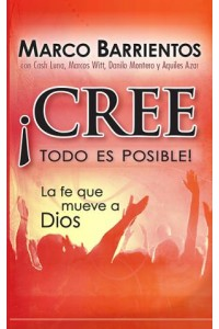 ¡Cree, todo es posible! - Pocket Book -  - Barrientos, Marco