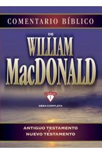 Comentario Bíblico de William MacDonald -  - MacDonald, William