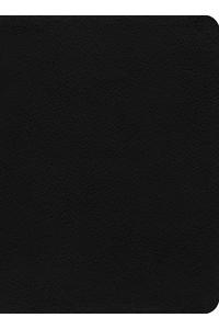Biblia de Estudio de La Reforma (LBLA) Piel Legitima Negro -  - Sproul, R. C