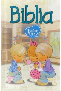 Biblia Precious Moments, Nueva Versión Internacional NVI, tamaño manual, tapa dura a color -