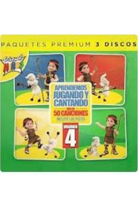 CD Aprendemos Jugando y Cantando Vol.4 Cedarmont Kids