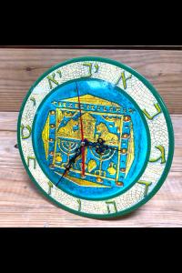 Reloj ceramico mosaico -
