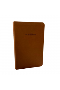 NIV, Value Thinline Bible, Leathersoft, Brown -