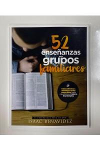 52 enseñanzas para grupos familiares -  - Benavidez, Isaac