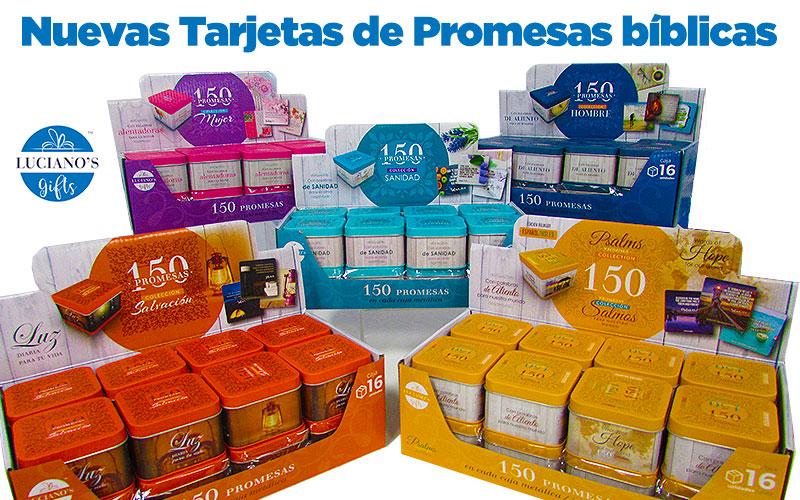 promesas de Dios en la Biblia tarjetas articulo blog Lucianosbooks